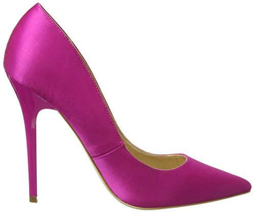 Office Scarpe Pink Punta col On W Tops Donna Pink Tacco Satin Chiusa CCtwBZqO
