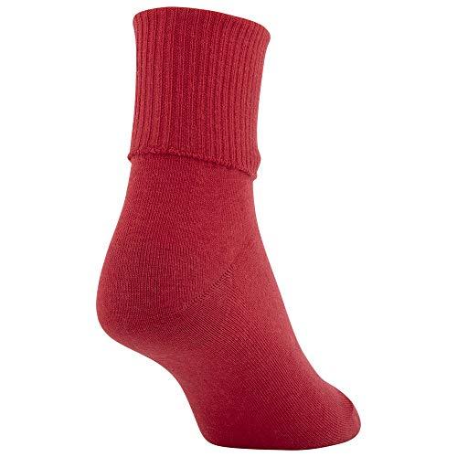 thumbnail 22 - Gold Toe Women's Classic Turn Cuff Socks, Multipai - Choose SZ/color