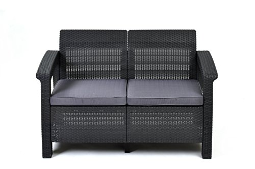 Keter Weather Furniture Cushions Charcoal product image