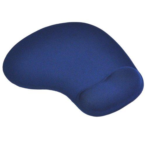 TRIXES Comfort Wrist Gel Rest Support Mat Mouse Mice Pad Dark Blue