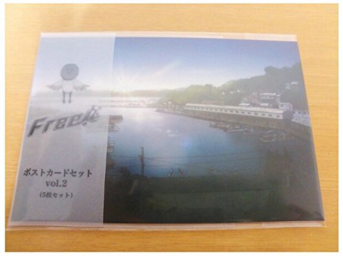 Free! Iwami-cho, limited post card set Vol.2 New From Japan F/S (Costume Store Near My Location)