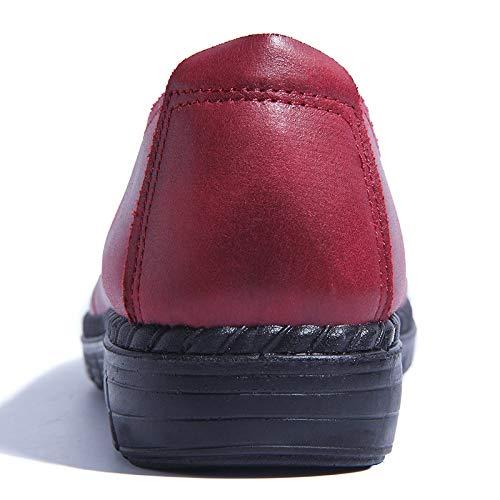 Rouge Chaussures EU coloré 37 Taille ZHRUI Rouge x0PwqEO0d