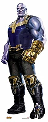 """Star Cutouts SC1138 Marvel Avengers Infinity War""""Thanos Gauntlet"""" Life-size Cardboard Cut-out, Multi-Colour"""