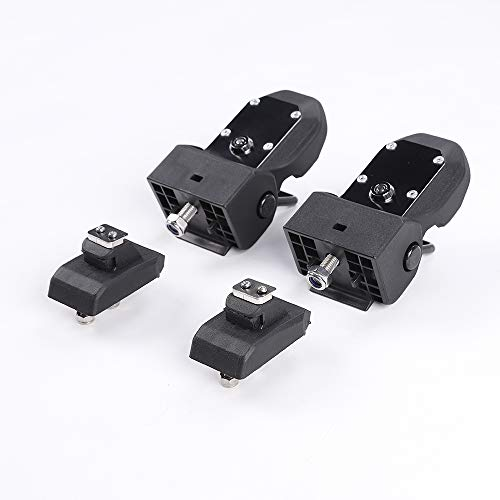 RT-TCZ Original JL Hood Latches Hood Lock Catch Latches Kit for Jeep Wrangler JK JL 2007-2018 (Black) by RT-TCZ (Image #6)