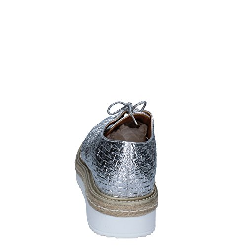 OLGA Ville de Femme Pour à Argent RUBINI Argenté Chaussures Lacets 6qt6r