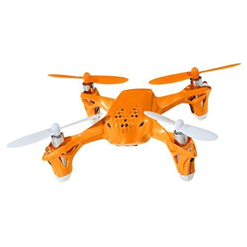 Tekstra Brands Hubsan H108 2.4G 4CH RC Quadcopter Includes Black Rubber Feet and Blades - Orange