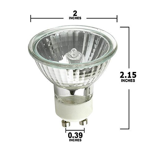 pack of 6 50 watt gu10 halogen bulb 120 volt 50w gu10 halogen light bulb in the uae see prices. Black Bedroom Furniture Sets. Home Design Ideas