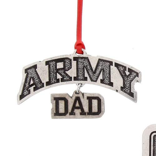 Wendell August US Army Dad Ornament, Christmas Decoration