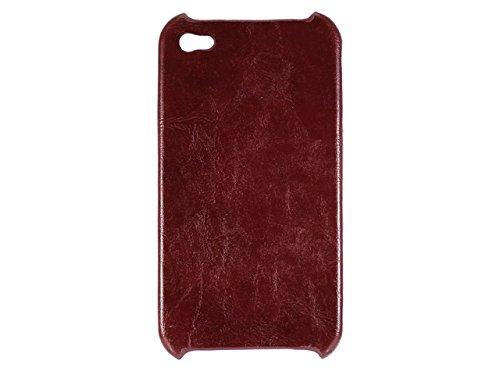 Telileo Back Case - Apple iPhone 4 - Lustre Weinrot