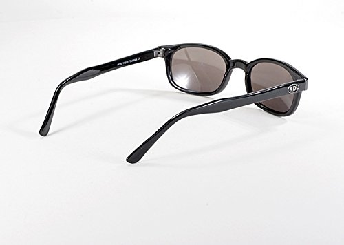 1a5ad5dbcd X KD Sunglasses Silver Mirror Smoked Lens Sunglasses Large Size UV400