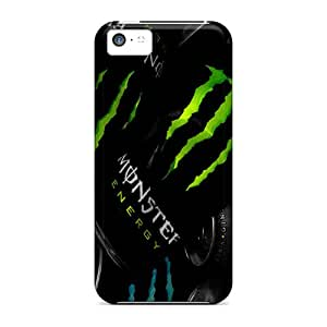 Rewens YWb1509rCqn Case Cover Iphone 5c Protective Case Monster Drink Up