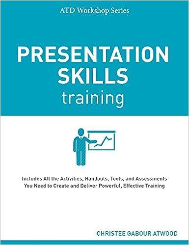 amazon presentation skills training atd workshop christee