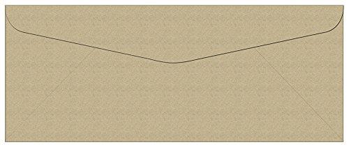 100 Kraft #10 Envelopes - 9.5
