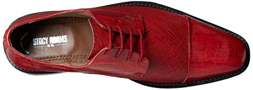free shipping best wholesale Stacy Adams Men's Gatto Leather Sole Cap Toe Oxford Red with paypal online 5SJ7Sld4qp