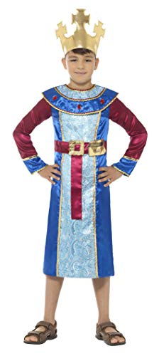 Wrath Of The Lich King Halloween Costumes - Smiffys King Melchior Costume, Blue,
