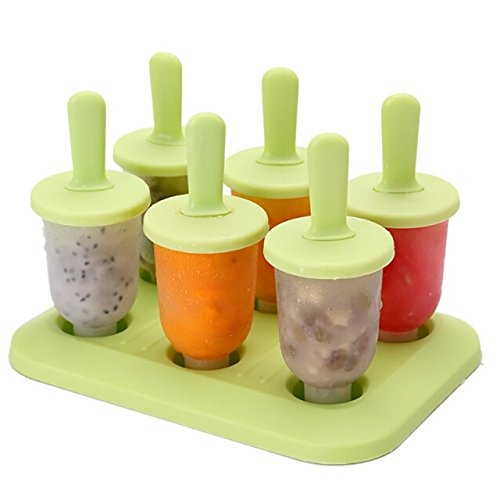 Fiesta - Moldes para helado con forma de 6 moldes de oso para ...