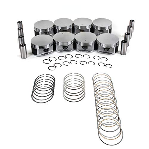 (CNS Brand New Engine PISTONS W/RINGS Set WORKS WITH 99-07 CHRYSLER/DODGE/JEEP/MITSUBISHI 4.7L (4703cc/287cid) SOHC V8 16V,