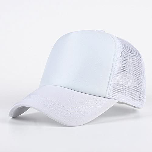 5762ed882d2 Buy Stylish Cotton Baseball Adjustable White Net Cap For Men Women Online  at Low Prices in India - Amazon.in