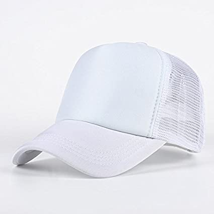a7a73a7544f Buy Handcuffs BFVCU26 Cotton Baseball Adjustable Cap (White) Online at Low  Prices in India - Amazon.in
