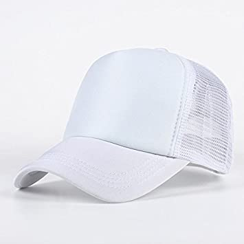 26ed5842f1d Buy Handcuffs BFVCU26 Cotton Baseball Adjustable Cap (White) Online at Low  Prices in India - Amazon.in