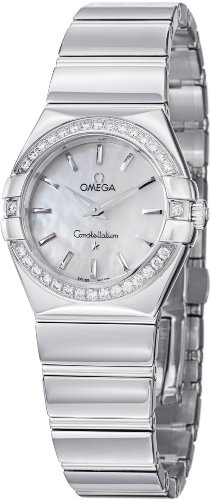Omega Womens 123.15.27.60.05.002 Constellation Mother-Of-Pearl Dial Watch