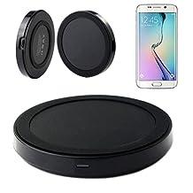 Tenworld Samsung Galaxy S6 Edge LTE Qi Wireless Power Charger Charging Pad