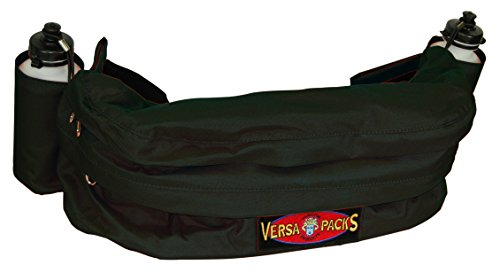 Hamilton Versa-Packs Fanny Cantle Deluxe Bag, Black (Deluxe Trail Saddle)