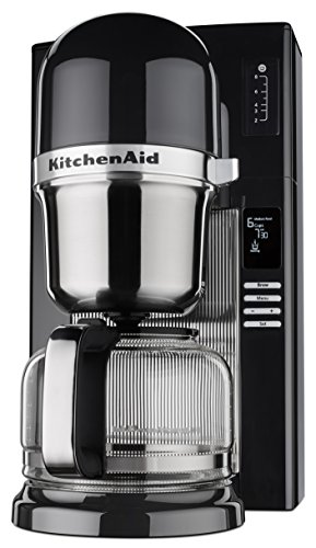 KitchenAid KCM0802OB Pour Over Coffee Brewer, Onyx ()