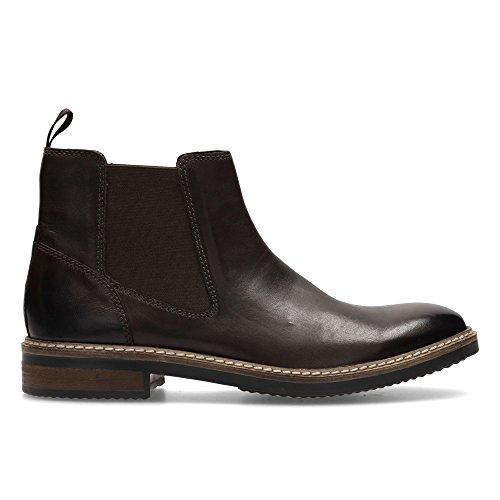 Clarks Herren Blackford Top Chelsea Boots Braun