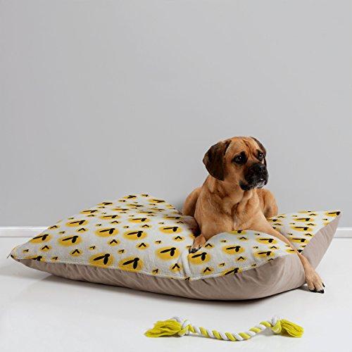 Deny Designs Allyson Johnson Firefly Pattern Pet Bed, 40 by 30-Inch -