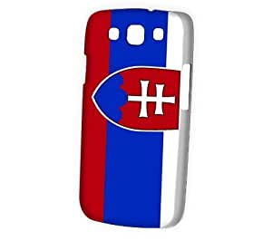 Case Fun Samsung Galaxy S3 (I9300) Case - Vogue Version - 3D Full Wrap - Flag of Slovakia