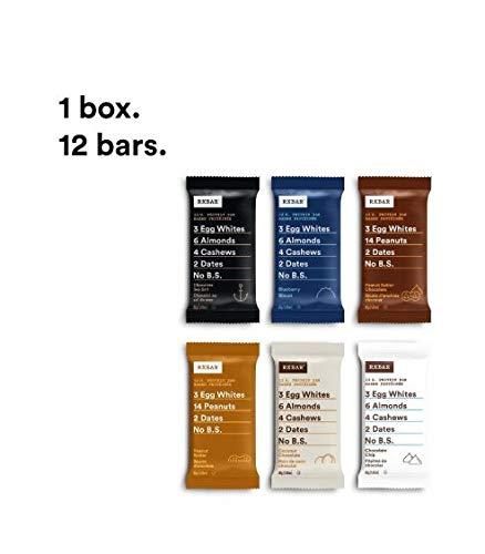 RXBAR Variety Pack, 12ct, 52 Grams