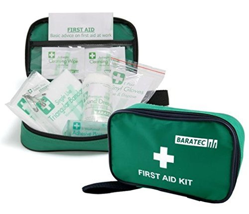 Baratec 1 Persons Travel Home Work First Aid Kit HSE Compliant by Baratec by