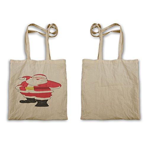 Santa Claus Happy Winter Carry Bag P460r