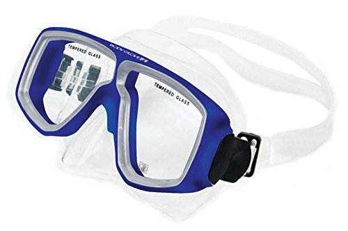 Body Glove Optical Professional Corrective Snorkeling Mask, Blue, (Body Glove Diving)