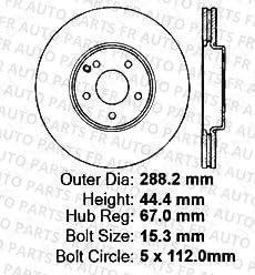 8 Ceramic Pads Fits:- B200 Front+Rear Kit 4 Cross-Drilled Disc Brake Rotors Heavy Tough-Series 5lug