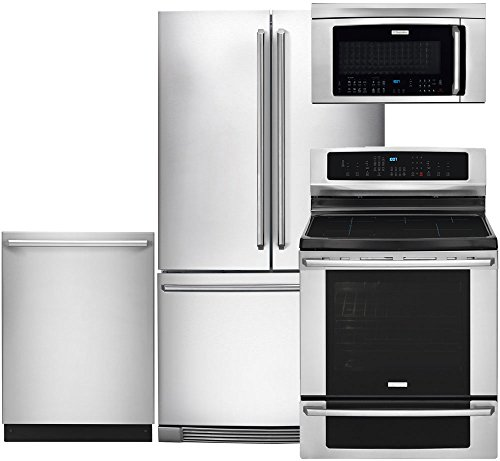 Electrolux 4 Piece Stainless Steel Kitchen Package With EI23BC80KS 36