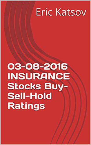 03-08-2016 INSURANCE  Stocks Buy-Sell-Hold Ratings (Buy-Sell-Hold+stocks iPhone app) Pdf