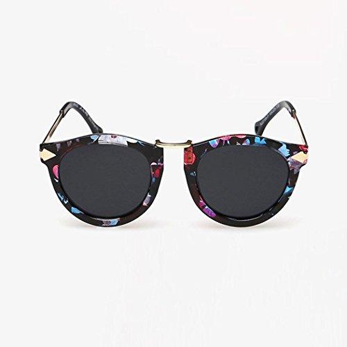 de Glasses Retro Unisex Femmes Color lunettes Reaso soleil Vintage 01 Mode Hommes Été XwxXqWZvS