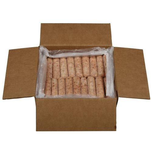 Farmland 58 Percent Lean Smoked Pork Sausage Link, 2 Ounce - 1 each. (Smoked Hot Dogs)