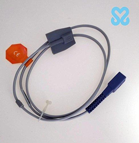 Pediatric Silicone - 7 Pin Oximeter Sensor Spo2 Reusable Child pediatric Silicone Soft Tip Spo2 Sensor (Nellcor 7 Pin)