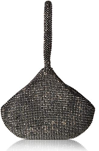 Jessica McClintock Staci Mesh Wristlet Pouch, Pewter
