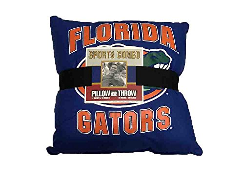 Florida Gators Pillow and Throw Gift - Throws Sports Biederlack