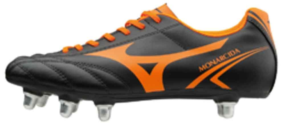 Mizuno Monarcida Rugby SI Boots - Black/Orange