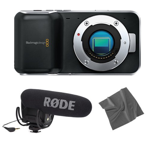 Blackmagic Design Pocket Cinema Camera with Rode VideoMic for sale  Delivered anywhere in USA