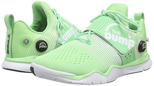 Vert white Zpump Green Fusion seafoam Femme Grün Reebok De coal Tr Chaussures Fitness xagUPPp0qw