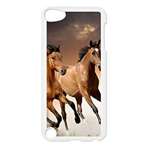 DDOUGS Galloping Horse DIY Cell Phone Case for Ipod Touch 5, Discount Galloping Horse Case