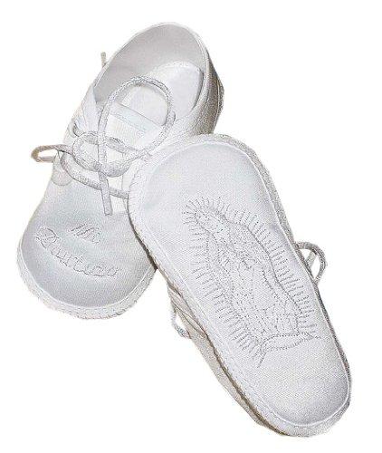6412ffbb6887e Lauren Madison Baby boy Christening Baptism Hispanic boy Satin Shoes - Buy  Online in UAE.