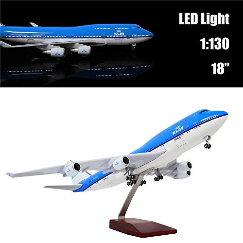 "24-Hours 18"" 1:130 1 Scale Airplane Model Holland 747 for sale  Delivered anywhere in USA"