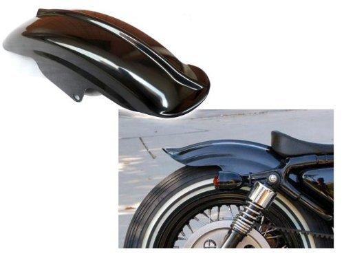 Astra Depot Black Rear Fender Mudguard for Harley Sportster XL Solo Cafe Racer Bobber Chopper